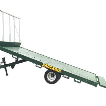 Zaccaria maskintrailer 6-ton